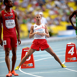 11.08.2013, Luzhniki Stadion, Moskau, RUS, IAAF Leichtathletik Weltmeisterschaft, im Bild MARCIN LEWANDOWSKI // during the IAAF world athletics championships at Luzhniki stadium in Moscow, Russia on 2013/08/11. EXPA Pictures © 2013, PhotoCredit: EXPA/ Newspix/ Roman Bosiacki<br /> <br /> ***** ATTENTION - for AUT, SLO, CRO, SRB, BIH, TUR, SUI and SWE only *****