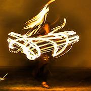Moksha performs a fire dance at Art All Night DC.