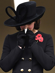 Members of The Royal Family attend Remembrance Sunday at The Cenotaph, London, UK, on the 12th November 2017. 12 Nov 2017 Pictured: Catherine, Duchess of Cambridge, Kate Middleton. Photo credit: James Whatling / MEGA TheMegaAgency.com +1 888 505 6342