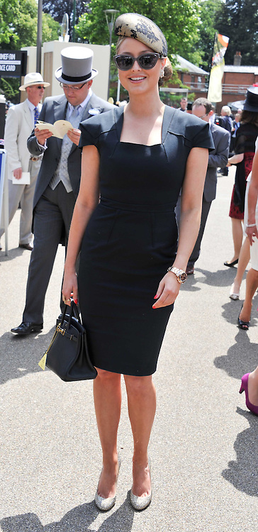 HOLLY VALANCE at day 1 of the 2011 Royal Ascot Racing festival at Ascot Racecourse, Ascot, Berkshire on 14th June 2011.