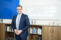05 MAY 2021, BERLIN/GERMANY:<br /> Jens Spahn, CDU, Bundesgesundheitsminister, in seinem Buero, Bundesministerium fur Gesundheit<br /> IMAGE: 202105005-01-044