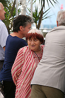 Director Agnes Varda at the Jury Camera D'Or photocall at the Cannes Film Festival 17th May 2013