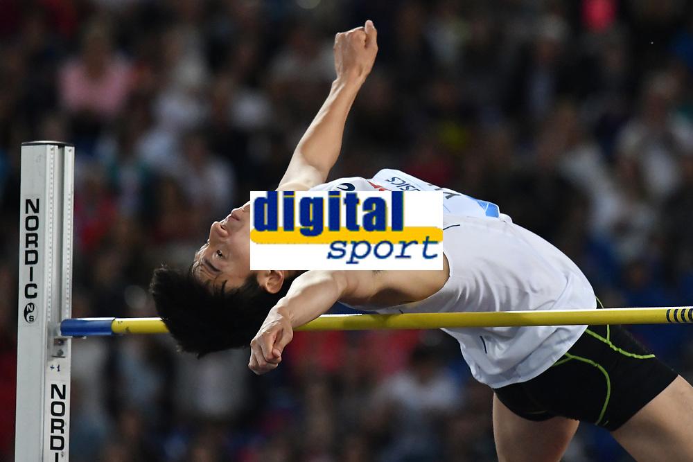 Seung-Hyun YUN KOR High Jump <br /> Roma 03-06-2016 Stadio Olimpico <br /> IAAF Diamond League Golden Gala <br /> Atletica Leggera<br /> Foto Andrea Staccioli / Insidefoto