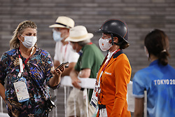 Boonzaaijer Janneke, NED, Van Zon Jantien, NED<br /> Olympic Games Tokyo 2021<br /> © Hippo Foto - Stefan Lafrentz<br /> 30/07/2021