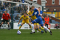 Anthony Pilkington. Stockport County FC 1-2 Colchester United FC. Coca-Cola League 1. 18.8.08