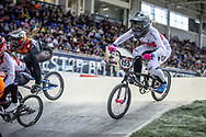 #155 (MECHIELSEN Drew) CAN at Round 2 of the 2019 UCI BMX Supercross World Cup in Manchester, Great Britain