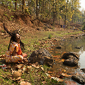 To become a river; the longest pilgrimage - India