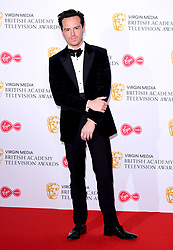 Andrew Scott in the press room after presenting the award for Best Mini-Series at the Virgin Media BAFTA TV awards, held at the Royal Festival Hall in London.