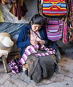 Street scenes in Huaraz, in the Santa Valley (Callejon de Huaylas), Ancash Region, Peru, Andes Mountains, South America.