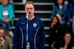 29-09-2018 NED: Supercup Sliedrecht Sport - Eurosped, Sliedrecht<br /> Sliedrecht takes the first price of the new season / Referee Marco van Zanten
