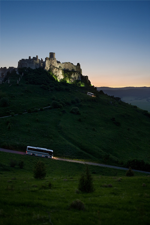 Image for Scania's international bus calendar.