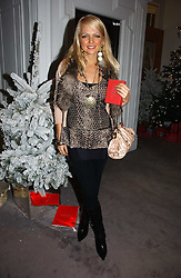 HANNAH SANDLING at Garrard's Winter Wonderland party held at their store 24 Albermarle Street, London W1 on 30th November 2006.<br /><br /><br />NON EXCLUSIVE - WORLD RIGHTS