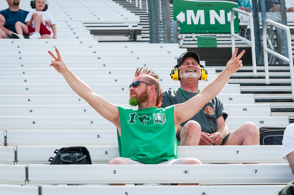 NASCAR fans at Bristol Motor Speedway in Tennessee on March 17, 2012.