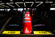 December 3-4, 2016: Ferrari Finali Mondiali, Jean Alesi's F1 car