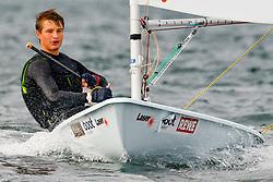 , Kieler Woche 05. - 13.09.2020, Laser Standard - GER 215216 - Justin BARTH - Berliner Yacht-Club e.V