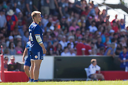 June 16, 2018 - Ottawa, ON, U.S. - OTTAWA, ON - JUNE 16: Kirill Golosnitskiy (13 Centre) of Russia in the Canada versus Russia international Rugby Union action on June 16, 2018, at Twin Elms Rugby Park in Ottawa, Canada. Russia won the game 43-20. (Photo by Sean Burges/Icon Sportswire) (Credit Image: © Sean Burges/Icon SMI via ZUMA Press)