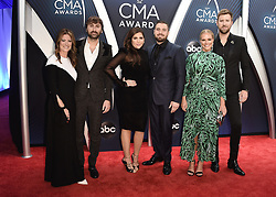 52nd Annual CMA Awards at the Bridgetone Arena on November 14, 2018 in Nashville, Tennessee. (Photo by Scott Kirkland/PictureGroup). 14 Nov 2018 Pictured: Lady Antebellum. Photo credit: Scott Kirkland/PictureGroup / MEGA TheMegaAgency.com +1 888 505 6342
