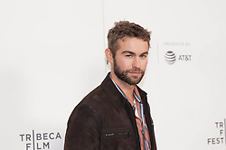 Chance Crawford at 'Charlie Says' at the Tribeca Film Festival in New York City.