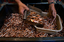 GOOIK, BELGIUM - APRIL-11-2003 - FN Herstal weapons fabrication. (Photo © Jock Fistick)