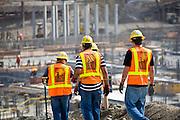 Construction Men On The Job Site