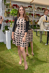 Amber le Bon at the Cartier Queen's Cup Polo 2019 held at Guards Polo Club, Windsor, Berkshire. UK 16 June 2019 - <br /> <br /> Photo by Dominic O'Neill/Desmond O'Neill Features Ltd.  +44(0)7092 235465  www.donfeatures.com