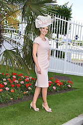 Charlotte Hawkins at The Investec Derby, Epsom, Surrey England. 3 June 2017.<br /> Photo by Dominic O'Neill/SilverHub 0203 174 1069 sales@silverhubmedia.com