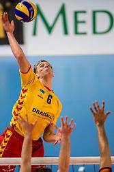19-02-2017 NED: Bekerfinale Draisma Dynamo - Seesing Personeel Orion, Zwolle<br /> In een uitverkochte Landstede Topsporthal wint Orion met 3-1 de bekerfinale van Dynamo / Nico Maneschijn #6 of Dynamo