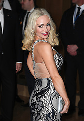 Kristina Rihanoff arriving at the London Film Critics Circle Awards 2017, the May Fair Hotel, London.<br /> <br /> Photo credit should read: Doug Peters/EMPICS Entertainment