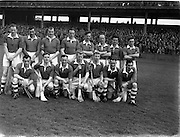 10/03/1957<br /> 03/10/1957<br /> 10 March 1957<br /> Ireland v The Rest at Croke Park, Dublin. Ireland Team.