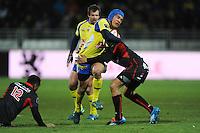 Benson Stanley  - 28.12.2014 - Lyon Olympique / Clermont - 14eme journee de Top 14 <br />Photo : Jean Paul Thomas / Icon Sport