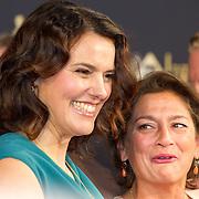 NLD/Utrecht/20151002 - NFF 2015, Gouden Kalveren inloop, Susan Smit en Annet Malherbe