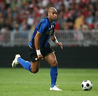 Adriano Inter<br /> MG (Olanda) 09/08/2008 - amichevole Lg cup / Ajax-Inter / <br /> Insidefoto