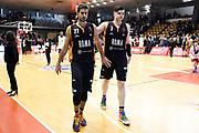 Kyzlink Tomas Alibegovic Amar<br /> Grissin Bon Reggio Emilia - Virtus Roma<br /> Lega Basket Serie A 2019/2020<br /> Reggio Emilia, 29/12/2019<br /> Foto A.Giberti / Ciamillo - Castoria