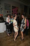 Hannah Bhuiyo and Lara Bohinc, Royal  Academy of  Arts summer exhibition opening night. Royal academy. Piccadilly. London. 6 June 2007.  -DO NOT ARCHIVE-© Copyright Photograph by Dafydd Jones. 248 Clapham Rd. London SW9 0PZ. Tel 0207 820 0771. www.dafjones.com.
