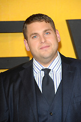 Jonah Hill attends The Wolf Of Wall Street UK film premiere, for film based on true life crime drama about a New York stockbroker and Wall Street corruption at Odeon Leicester Square, 24-26 Leicester Square, London, England.  Thursday, 9th January 2014. Picture by Chris Joseph / i-Images