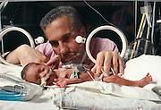 A Premature Baby at Mount Sinai Medical Hospital.