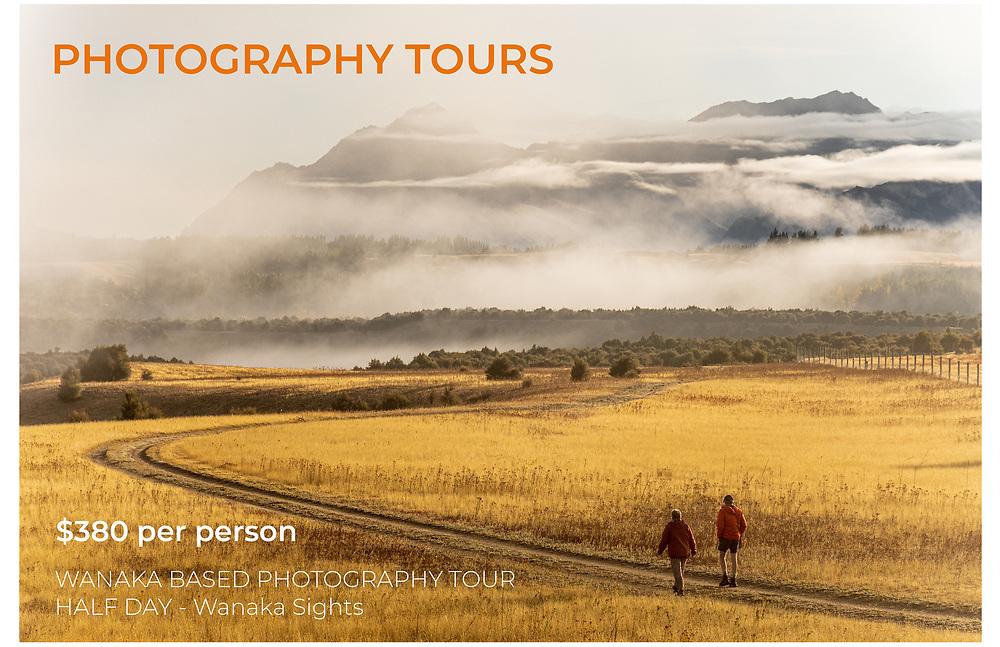 Wanaka based photography tour, learn landscape photography skills while exploring the beautiful region.