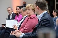 "06 SEP 2021, BERLIN/GERMANY:<br /> Angela Merkel, CDU, Bundeskanzlerin, Veranstaltung ""Digitalimpulse - #c: digitally united"", Konrad-Adenauer-Haus<br /> IMAGE: 20210906-02-006"
