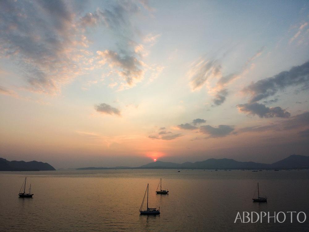 DCIM\100MEDIA\DJI_0114.JPG Drone over Phuket Thailand Cape Panwa