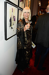 VIRGINIA BATES at a private view of fashion art by David Downton as in-house artist at Caridge's , held at Claridge's Hotel, London on 13th September 2013.