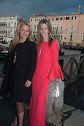 JENNIFER MCSWEENEY; YVONNE LE FORCE, The Bronx Museum of the Arts, Tanya Bonakdar Gallery and the Victoria Miro Gallery host a reception and dinner in honor of Sarah Sze: Triple Point. Representing the United States of America at the 55th Biennale di Venezia with the Co  Commissioners of the  U. S. Pavilion Holly Block, Executive Director of the Bronx Museum of the arts  and Carey Lovelace. <br /> <br /> Rialto Fish market. Venice. . 29 May 2013