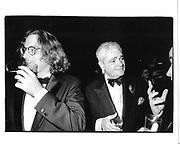 Morgan Entrekin and Peter Mass. Literary Guild dinner. Pierre. NY. 4 November 1992. © Copyright Photograph by Dafydd Jones 66 Stockwell Park Rd. London SW9 0DA Tel 020 7733 0108 www.dafjones.com