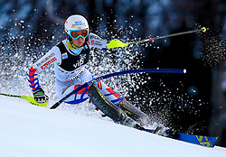 04.01.2013, Crveni Spust, Zagreb, AUT, FIS Ski Alpin Weltcup, Slalom, Damen, 1. Lauf, im Bild Nastasia Noens (FRA) // Nastasia Noens of France in action during 1st Run of the ladies Slalom of the FIS ski alpine world cup at Crveni Spust course in Zagreb, Croatia on 2013/01/04. EXPA Pictures © 2013, PhotoCredit: EXPA/ Pixsell/ Jurica Galoic..***** ATTENTION - for AUT, SLO, SUI, ITA, FRA only *****