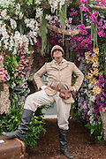 An explorer on the Love Orhids - the story of Phalaenopsis stand.