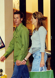 Jun 21, 2002 - Vernon Hills, IL, USA - JULIA ROBERTS and DANNY MODER hold hands at a shopping mall outside Chicago, days before they were married July 4 at Roberts' sprawling ranch in Taos, New Mexico. The 'Pretty Woman' has been regularly spotted on trendy Abbot Kinney Blvd. in Venice Beach, Calif. since she bought a craftsman-style home nearby for .3 million. <br />