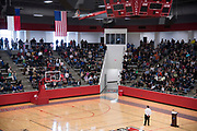 U.S. Rep. Michael C. Burgess speaks during a town hall meeting within his district at Flower Mound Marcus High School in Flower Mound, Texas on March 4, 2017.  (Cooper Neill for The Texas Tribune)