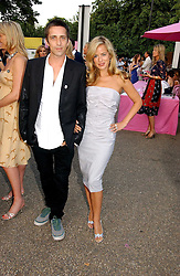 DAN WILLIAMS and JADE JAGGER at the Serpentine Gallery Summer party sponsored by Yves Saint Laurent held at the Serpentine Gallery, Kensington Gardens, London W2 on 11th July 2006.<br /><br />NON EXCLUSIVE - WORLD RIGHTS