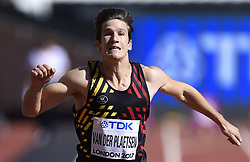 August 11, 2017 - Londres, Angleterre - LONDON , UNITED KINGDOM  - AUGUST 11 : Thomas Van Der Plaetsen of Belgium '' Decathlon''  pictured during 100 m heat at the16th IAAF World Athletics championships from august 4 till 13, 2017 in London ,United Kingdom, 09/08/2017 (Credit Image: © Panoramic via ZUMA Press)