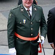 NLD/Amsterdam/20130430 - Inhuldiging Koning Willem - Alexander, Hans van Baalen in militair uniform