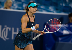 August 11, 2018 - Alize Cornet of France in action during qualifications at the 2018 Western & Southern Open WTA Premier 5 tennis tournament. Cincinnati, USA, August 11, 2018 (Credit Image: © AFP7 via ZUMA Wire)